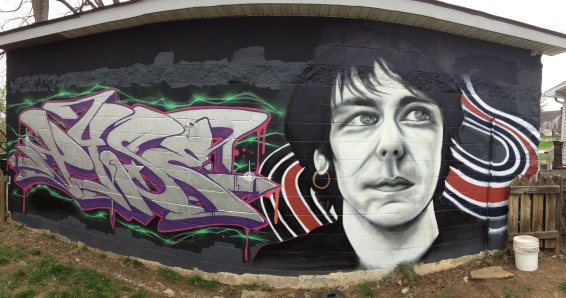 Elliott pan for Elliott smith mural