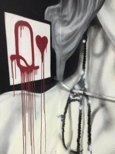 Hearts detail Q