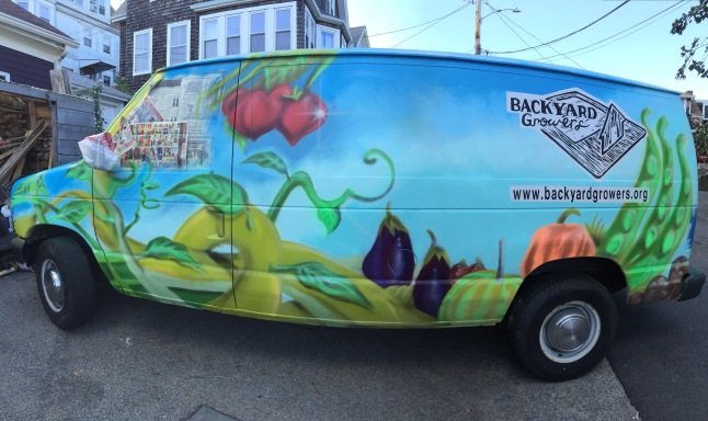 Backyard Growers Van, Gloucester, MA